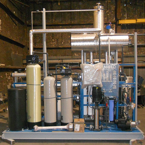 Cotting Industries - Boiler Water Treatment Systems